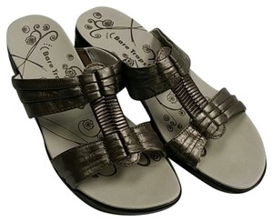 Bare Traps Pewter Sandals
