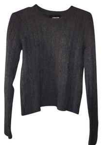 Reformation Distressed Cable-knit Sweater
