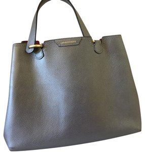 Emporio Armani Satchel in pewter