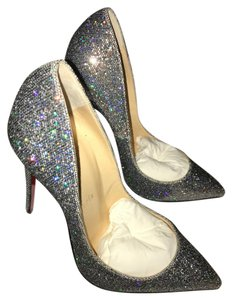 Christian Louboutin Limited Edition Pigalle Party Glitter Disco Ball Pumps