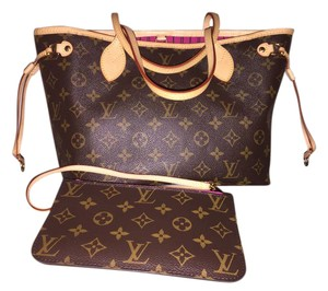 Louis Vuitton Neverfull Collection Tote in Monogram