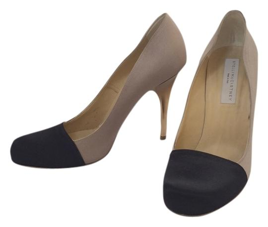 Stella McCartney black, beige, gold Pumps
