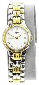 ESQ * ESQ Esquire Swiss Two Tone Ladies Watch