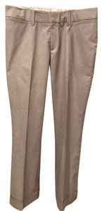 Banana Republic Casual Sporty Trouser Relaxed Pants Brown, White