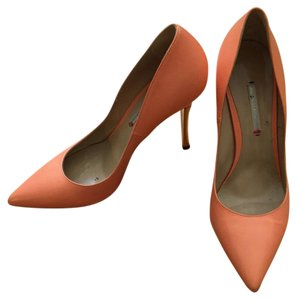 Nicholas Kirkwood orange pink gold Pumps