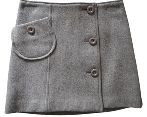 Jill Stuart Mini Wool Wrap Jill Mini Skirt