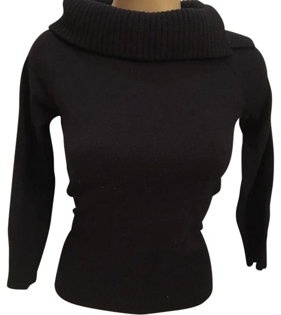 Preload https://img-static.tradesy.com/item/21155543/ann-taylor-black-wool-turtleneck-sweaterpullover-size-6-s-0-1-650-650.jpg