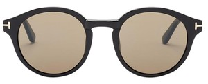 Tom Ford Tom Ford Women's Black Lucho Round Sunglasses