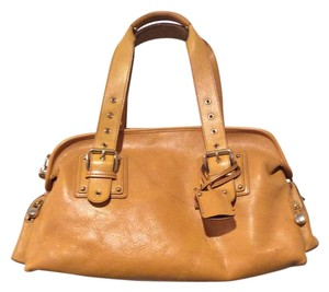 Marc Jacobs Leather Mustard Gold Satchel in Yellow
