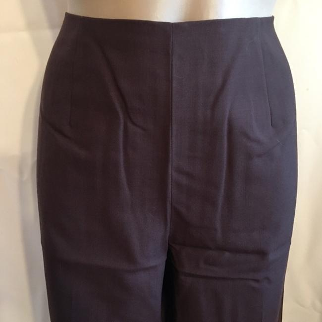 Ann Taylor Wool Straight Pants Brown Image 1