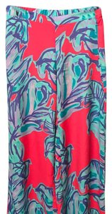Lilly Pulitzer Wide Leg Pants Pink/Blue