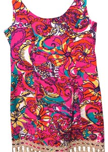 Lilly Pulitzer short dress Pink & purple on Tradesy