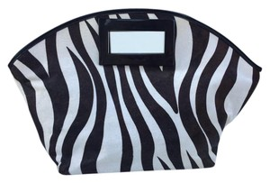 Alfani Black/Brown & White Zebra Clutch