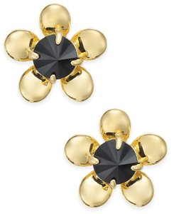 Kate Spade 12K Gold Plated Sunset Blooms Gold-Tone Flower Stud Earrings