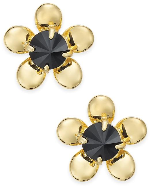 Kate Spade Gold 12k Plated Sunset Blooms Gold-tone Flower Stud Earrings Kate Spade Gold 12k Plated Sunset Blooms Gold-tone Flower Stud Earrings Image 1