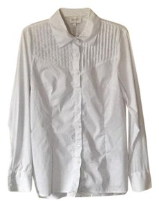 Laundry by Shelli Segal Button Down Shirt White