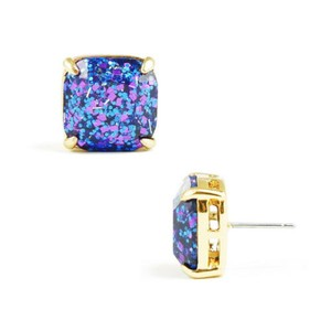 Kate Spade Kate spade New York Blue Multi Square Stud Earrings