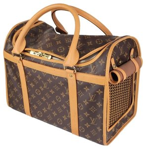 Louis Vuitton Vuitton Sac Chien Vuitton Dog Carrier Vuitton Dog Vuitton Pet Travel Bag