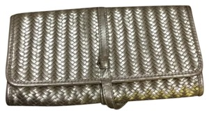 Banana Republic Gold Clutch