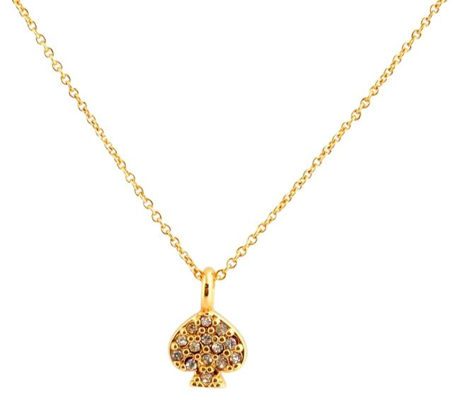 Kate Spade Gold New New York Pave 12k Crystals Necklace Kate Spade Gold New New York Pave 12k Crystals Necklace Image 1