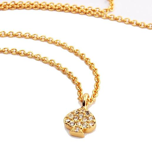 Kate Spade NEW Kate Spade New York Pave Spade Necklace - 12k Gold Crystals Image 3