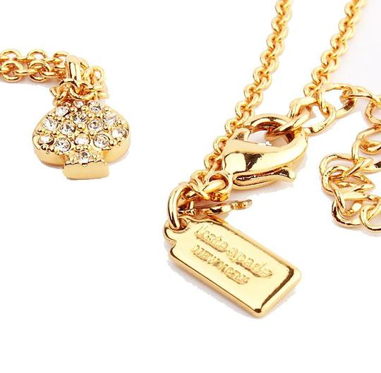 Kate Spade NEW Kate Spade New York Pave Spade Necklace - 12k Gold Crystals Image 4