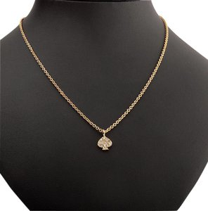 Kate Spade NEW Kate Spade New York Pave Spade Necklace - 12k Gold Crystals