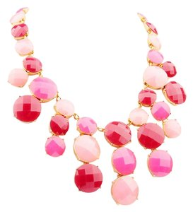 Kate Spade NEW kate spade New York Smell The Roses Bib Necklace 12k Gold