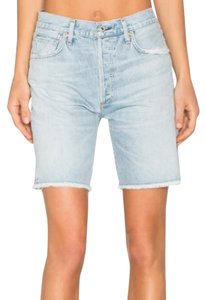 Citizens of Humanity Cut Off Shorts Light blue