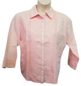 Sonoma Button Down Shirt Pink