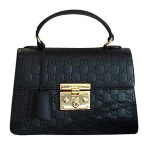 Gucci Classic Small Satchel in Black