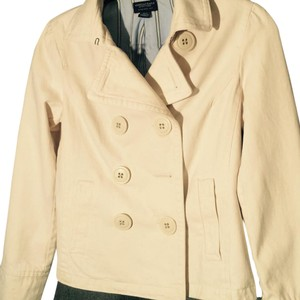 American Eagle Outfitters Off White Jacket