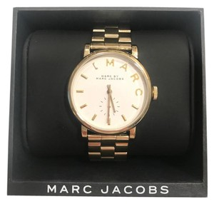 Marc Jacobs Marc by Marc Women's Gold Analog Watch MBM3243