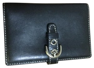 Coach Coach Mini wallet/notepad with Coach ink pen