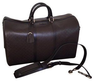 Gucci Duffle Travel Carry On Travel Bag