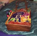 Emily Ann Of Boca Raton Tote in red Image 2