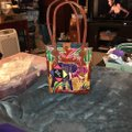 Emily Ann Of Boca Raton Tote in red Image 4