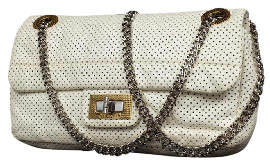 Preload https://img-static.tradesy.com/item/21156679/chanel-classic-lambskin-perforated-drill-flap-217517-white-leather-shoulder-bag-0-1-540-540.jpg