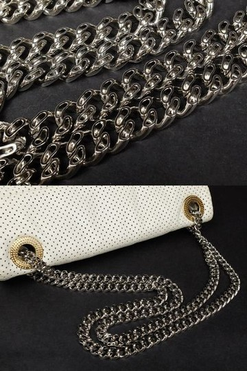 Chanel Perforated Drill Quilted Classic Limited Edition Shoulder Bag Image 11