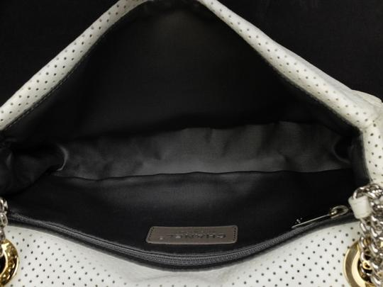 Chanel Perforated Drill Quilted Classic Limited Edition Shoulder Bag Image 3
