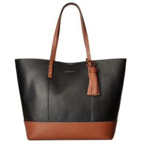 Cole Haan Tote in Black/Woodbury