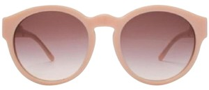 Stella McCartney Pink Round Sunglasses