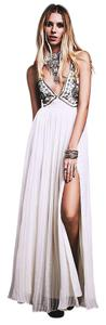 Free People Beaded Embellished Prom Bohemian Formal Dress