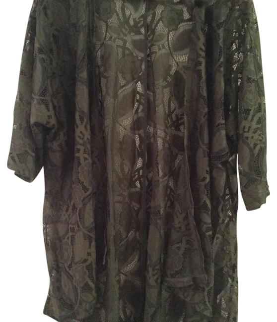Item - Forest Green Lindsay Cardigan Size 4 (S)