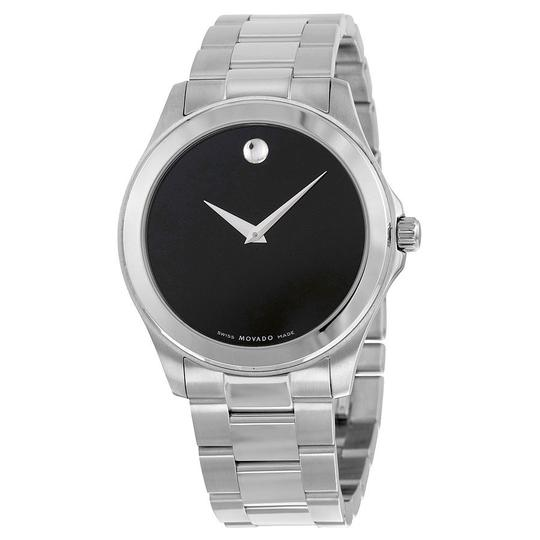 Preload https://img-static.tradesy.com/item/21157340/movado-black-silver-tone-junior-sport-dial-men-s-watch-0-0-540-540.jpg