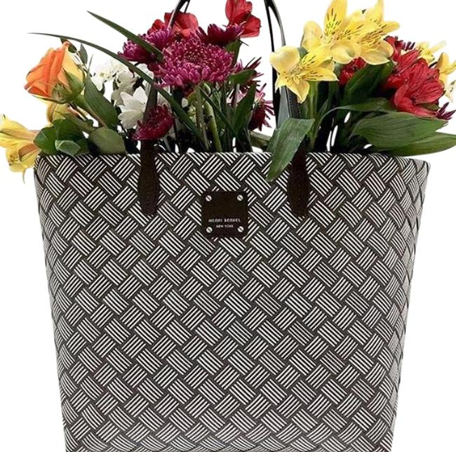 Item - Woven Market Brown Tote