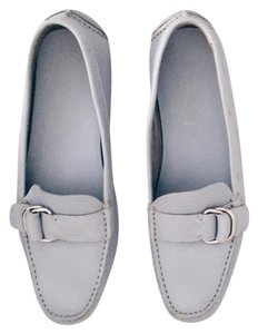 Prada Loafers blue Flats