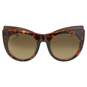 Gucci Gucci Cat Eye Havana Ladies Sunglasses GG3781/SLSDHA