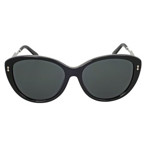Gucci Gucci Asian Fit Black Cat Eye Sunglasses GG3839/F/SCSAR6