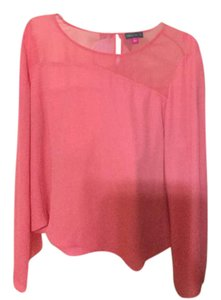 Vince Camuto Top Coral